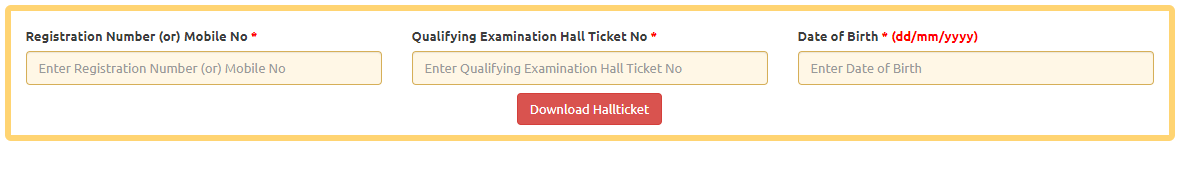 AP Lawcet Hall Ticket 2020