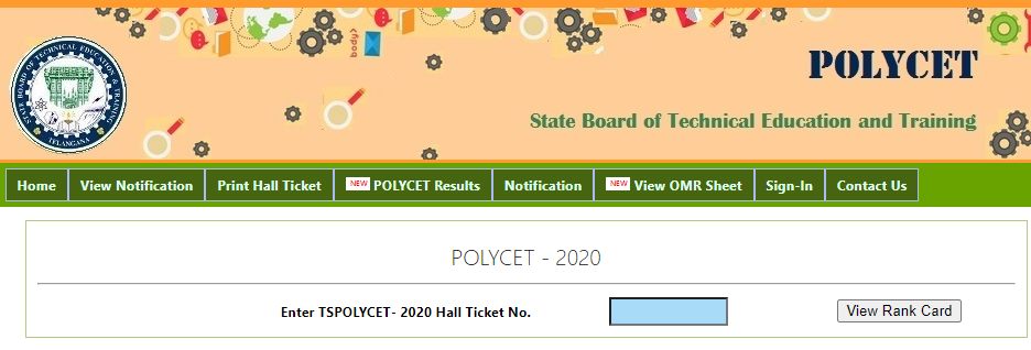 Polycetap.nic.in Results 2020 AP Polycet Rank Card Download @ appolycet.nic.in