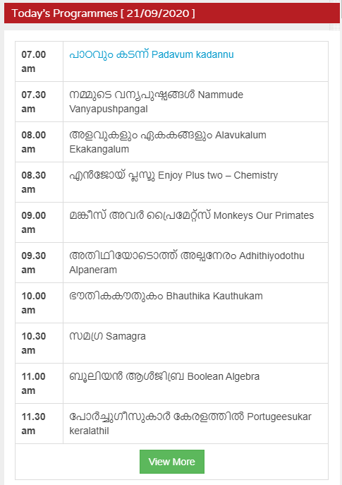 kite victer 21 sep 2020 programmes
