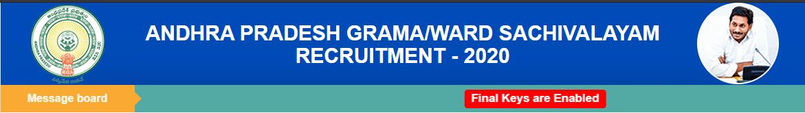 gramasachivalayam.ap.gov.in merit list