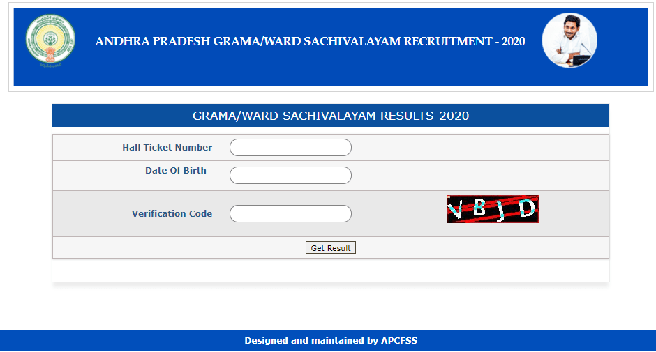 grama sachivalayam result