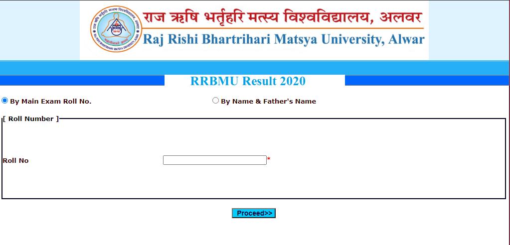 Matsya University Result 2020