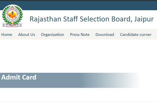 RSMSSB Patwari Admit Card 2021
