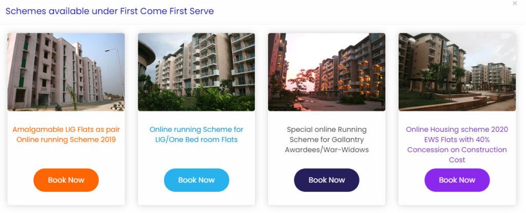 DDA Online Flat Booking 2021