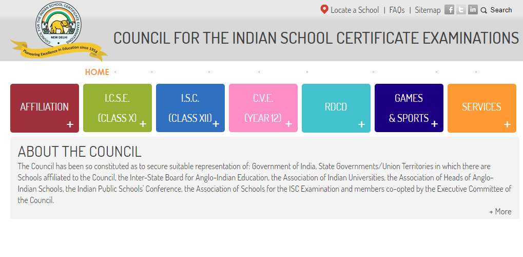 ICSE 10th Time Table 2021