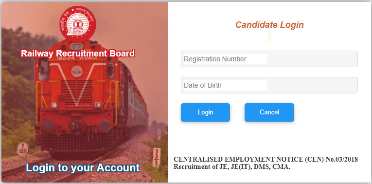 RRB NTPC Login E Call Letter 2020