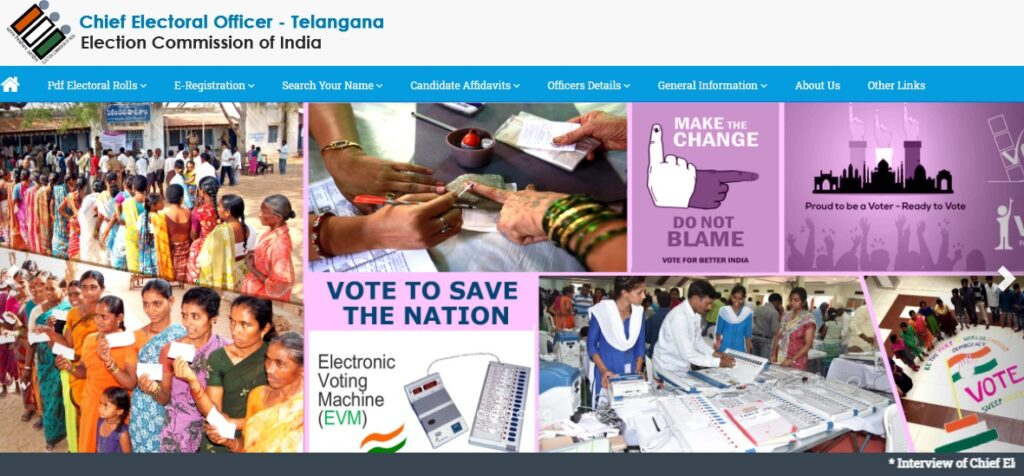 TS Voter List 2021 Telangana New Electoral Roll Name Wise ceotelangana.nic.in