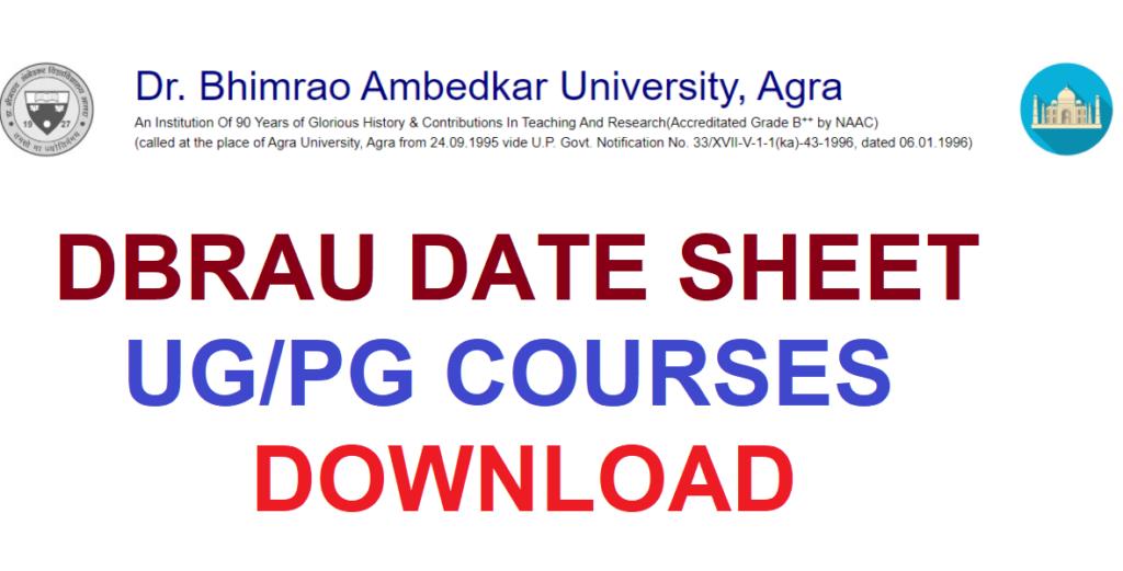 DBRAU Date Sheet