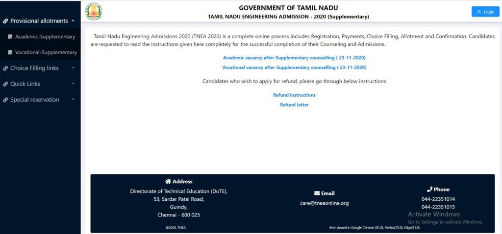 TNEA 2021 Registration, Dates, Eligibility, Merit List, Cutoff