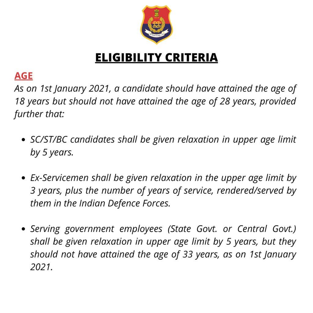 Punjab Police SI Recruitment 2021 Notification PDF, Apply Online