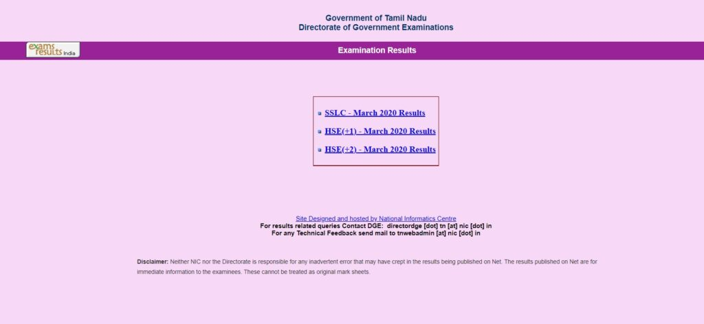 TN 12th Result 2021 DGE ATN HSE (+2) Public Exam Result
