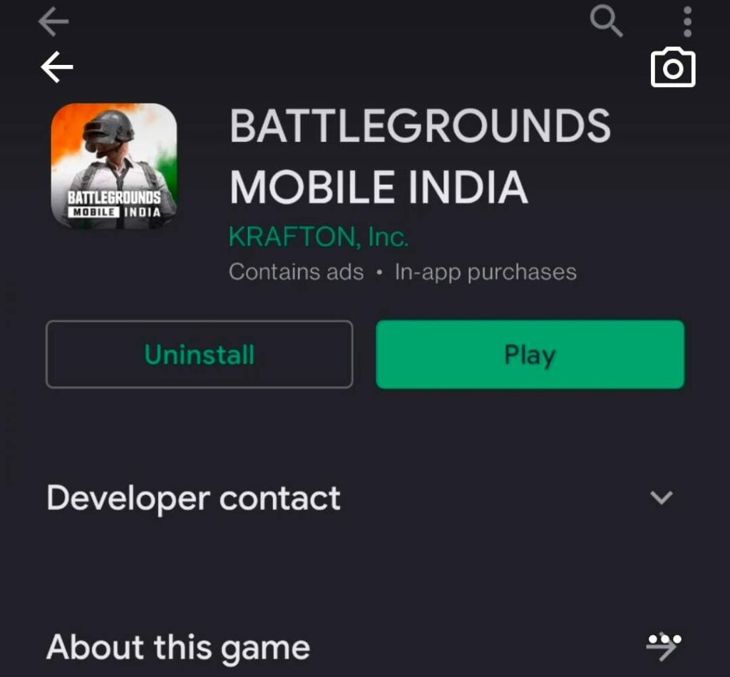 BGMI App Download