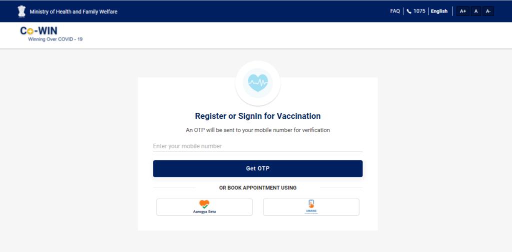 Cowin.gov.in Vaccination Certificate Download Covid-19 Beneficiary ID