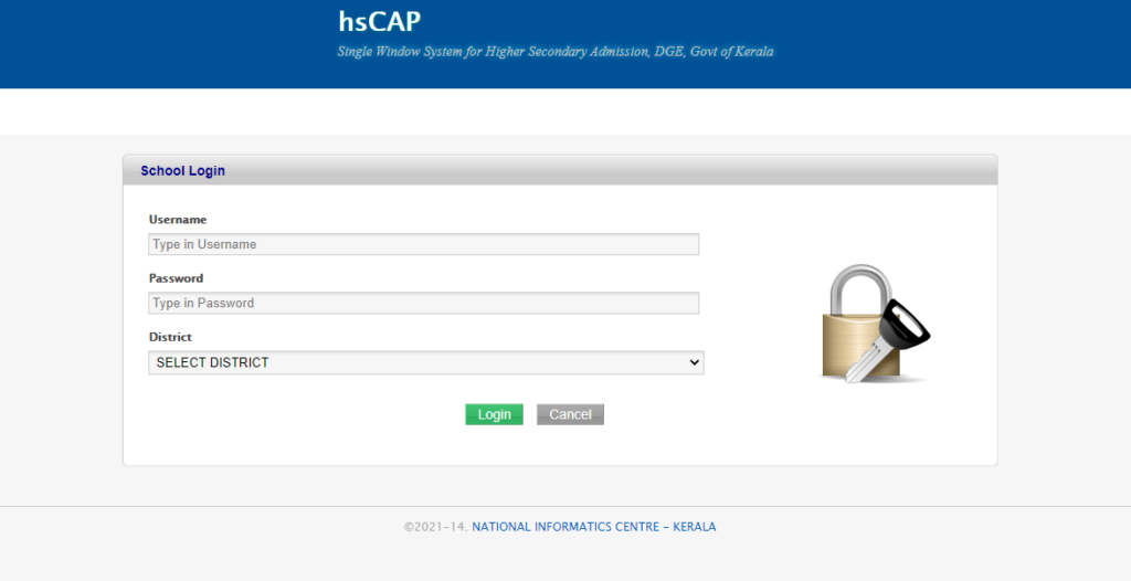 hscap.kerala.gov.in SWS Candidate Login +1 First Allotment Result 2021