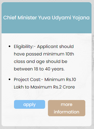 MP CM Yuva Udyami Yojana Apply Online, List, Status, Form, Eligibility