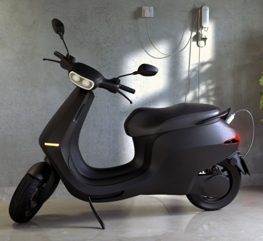 Ola E Scooter Online Booking Price