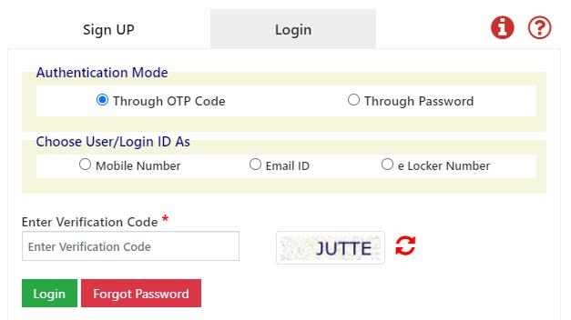 UPSSSC E Pariksha OTR E-Locker One Time Registration, Login, Status