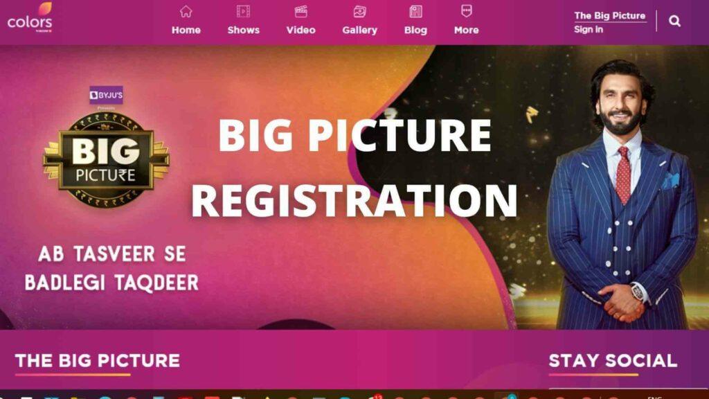 Big Picture Registration