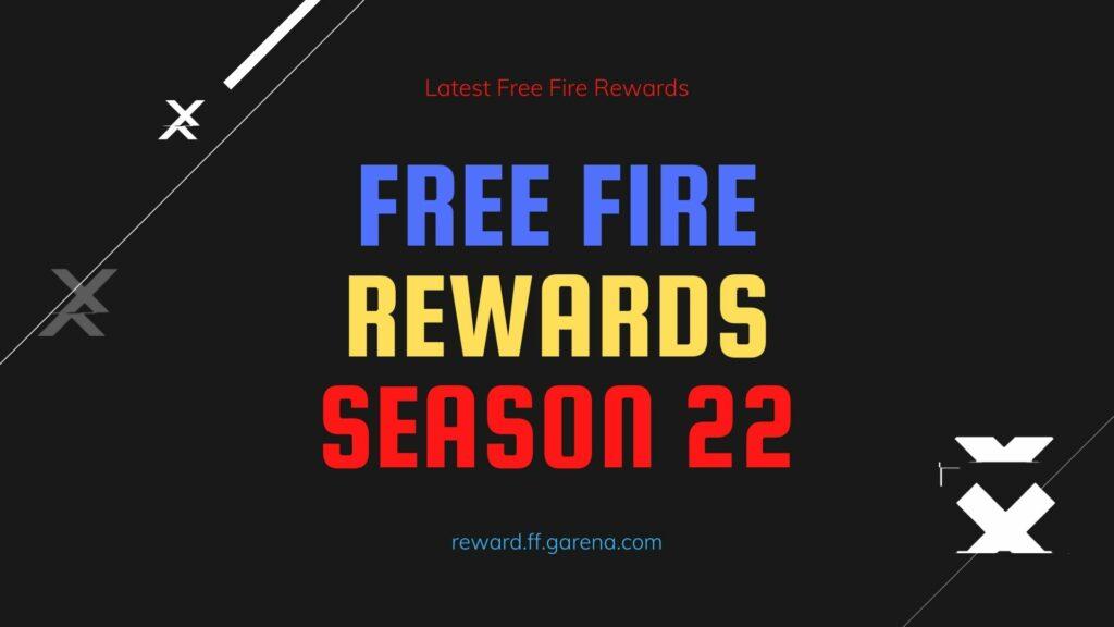 Free Fire Rank Season 22 Rewards FF New Rank Redeem Code End Date