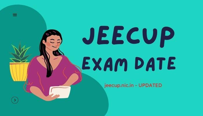 JEECUP Exam Date 2021
