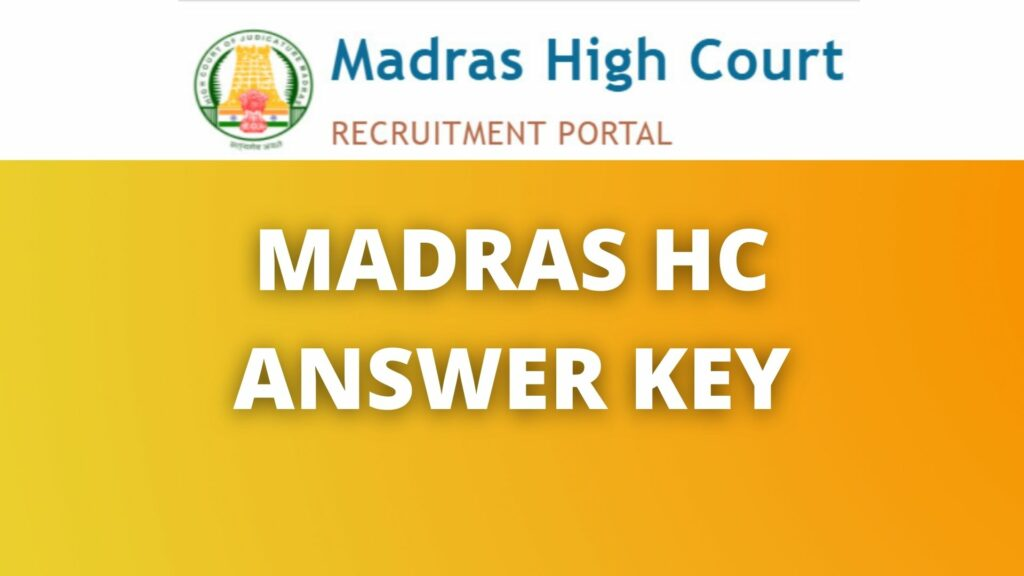 MHC Office Assistant Answer Key 2021 Expected Cut Off Marks