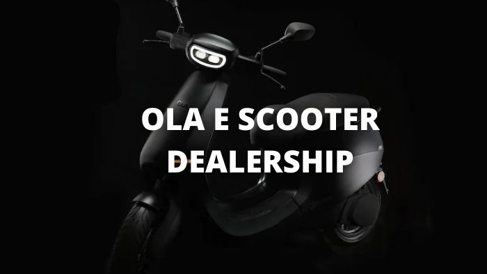 OLA Electric Scooter Dealership