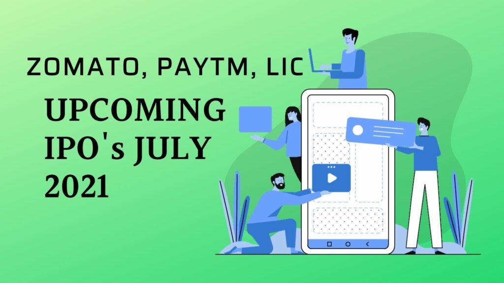 Upcoming IPO July 2021
