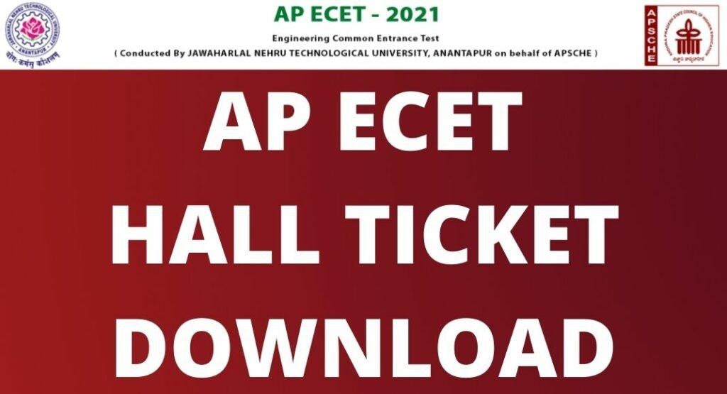 AP ECET Admit Card 2021