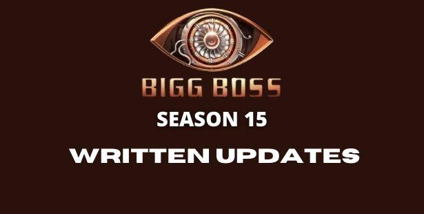 Bigg Boss Written Updates