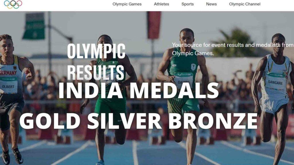 Tokyo Olympics India Medals 2021