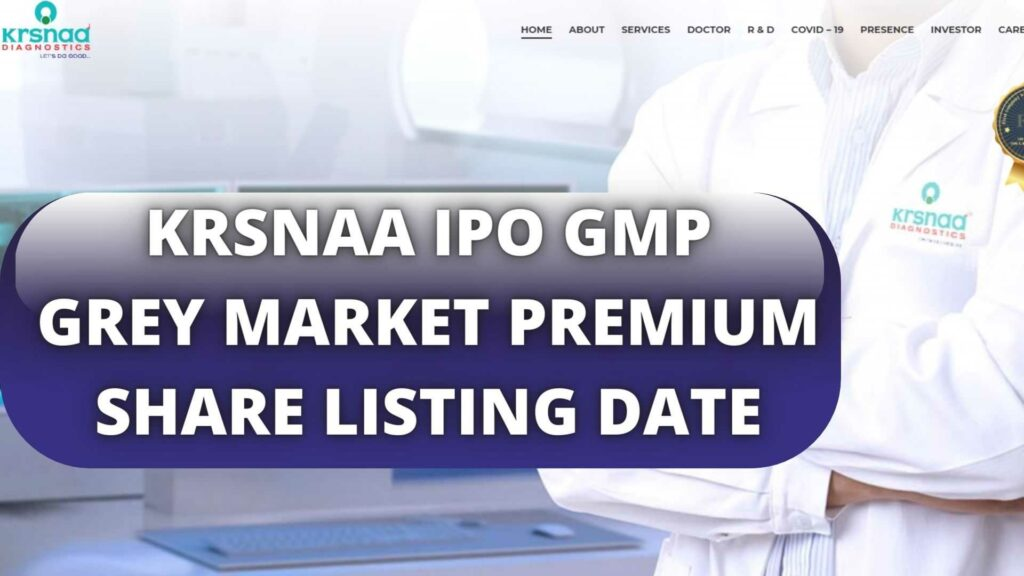 KRSNAA IPO GMP