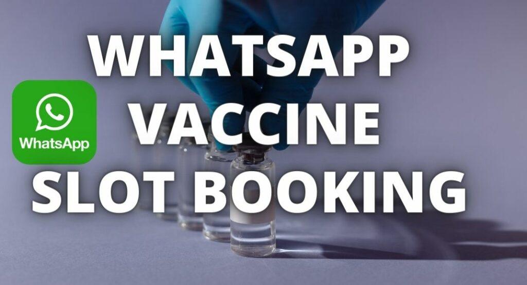 Whatsapp Vaccine Slot Booking