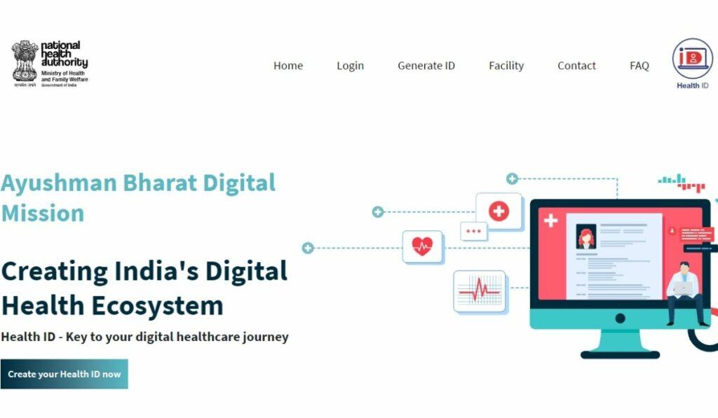 Digital Health ID Card Apply Online