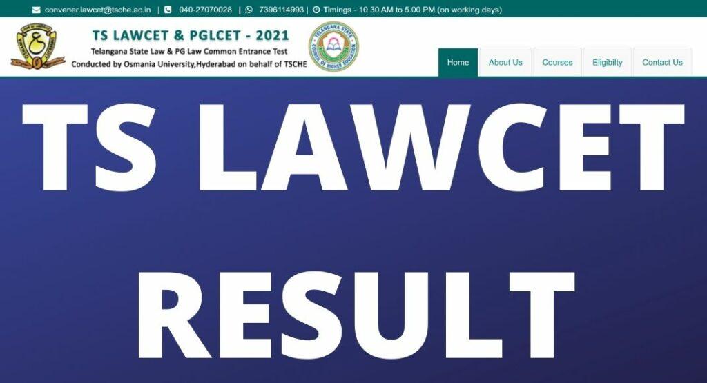 TS LAWCET Result