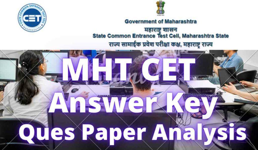 MH CET Answer Key